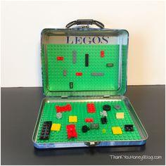 Travel LEGO Box, LEGOS, Travel, Kids, LEGOS ToGo Box, Traveling with kids, Travel Activities, DIY, Tutorial, LEGO Box, LEGO Travel Box, LEGOS Classic Box