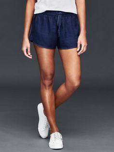 Linen surf shorts Product Image