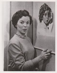1948 Shirley Temple with little Shirley portrait