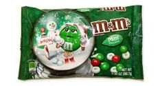 Candy coated M & M milk chocolate with a delicious mint chocolate flavor. These delicious chocolate candies are great for your next chocolate treat and they come in red, white and green colors. $7.00 http://www.candydirect.com/m-amp-m-milk-chocolate-mint-9-9-oz-1-count