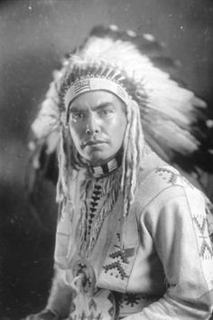 Spokane named Bazil D. Peone, Spokane Washington, ca. 1919 :: American Indians of the Pacific Northwest -- Image Portion