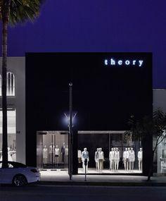 theory shops by nendo in los angeles, CA, USA #LA