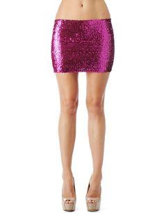 Sequin Tube Skirt