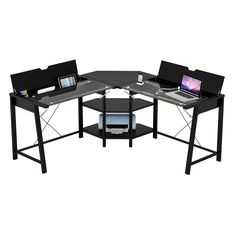 monarch specialties l shaped computer desk 37 h x 57 w x 57 d