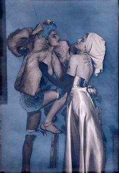 Man Ray. Juliet et Selma Browner 1945.