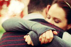 Ojalá esos abrazos tuyos se hubieran hecho realidad...
