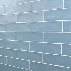 Ivy Hill Tile Strait Blue 3 in. x 12 in. 8 mm Polished Ceramic Subway Wall Tile (22 piece 5.38 sq. ft. / Box)-EXT3RD100755 - The Home Depot