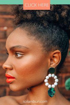 Summer statement earrings