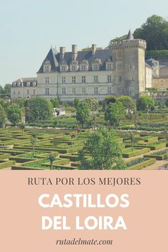 257-1 Castillos Loira Real Castles, Picture Postcards, Toscana, France Travel, Paris France, Travel Inspiration, Taj Mahal, Tourism, Scenery