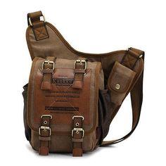 APG Crossbody Bag Canvas Leather Shoulder Bag Military Messenger Bag for School, Travel and Hiking Satchel Military Messenger Bag, Messenger Bags, Canvas Shoulder Bag, Shoulder Bags, Shoulder Strap, Shoulder Backpack, Shoulder Handbags, Canvas Leather, Leather Bracelets