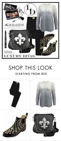 """Luxury Divas"" by amra-sarajlic ❤ liked on Polyvore featuring Paige Denim, Bobbi Brown Cosmetics, women's clothing, women, female, woman, misses, juniors and LUXURYDIVAS"
