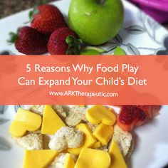 5 Reasons Why Playing with Food Can Lead to Trying New Foods.  http://www.arktherapeutic.com/post/1358 #feedingtherapy #pickyeater #sensory