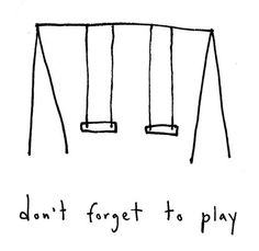 Marc Johns - don't forget to play - Signed Print