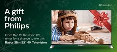 Philips TV 2015 Holiday Sweepstakes