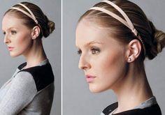 Tiara de elástico: faça você mesma seu acessório de cabelo