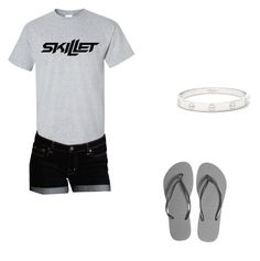 """""""skillet outfit"""" by soccermadison on Polyvore featuring Dex, Havaianas and Cartier"""