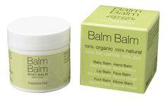 Bezzapachowy balsam dla niemowląt i dzieci Balm Balm. Bardzo naturalny, bardzo delikatny, bardzo skuteczny i bardzo wszechstronny.