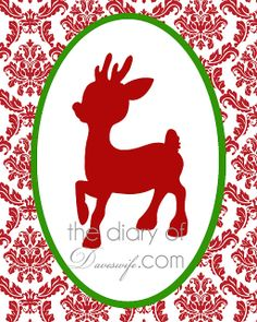 Christmas Home Decorations (100 Free Printables) {1} - Craftionary