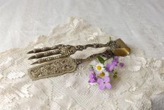 Italy Silverplate Eagle Talon Claw Tongs by MomsantiquesNthings, $44.00