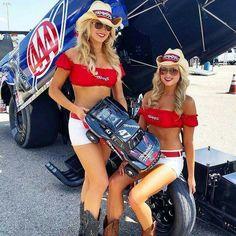 Traxxas Girl @ NHRA | Racing girl, Hotrod girls, Grid girls