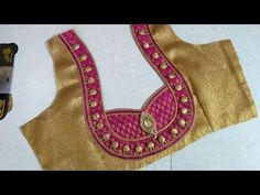 Latest and beautiful designer blouse cutting and stitching Patch Work Blouse Designs, Simple Blouse Designs, Stylish Blouse Design, Blouse Simple, Blouse Neck Models, Saree Blouse Neck Designs, Designer Blouse Patterns, Skinny, Fashion Blouses