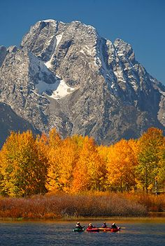 Grand Teton National Park - I have been here before, but I long to return one day. The Tetons are the most beautiful place I have ever seen.