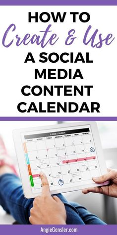 How to Create and Use a Social Media Content Calendar is part of Organization Apps Social Media - Learn how to create and use a social media content calendar and finally master social media for your business Facebook Marketing, Online Marketing, Social Media Marketing, Inbound Marketing, Social Media Content, Social Media Tips, Social Media Management, Social Media Services, Time Management