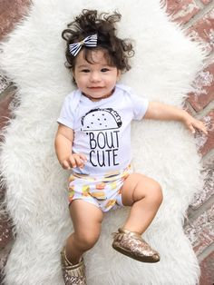 Hey, I found this really awesome Etsy listing at https://www.etsy.com/listing/463400285/taco-bout-cute-funny-baby-bodysuit