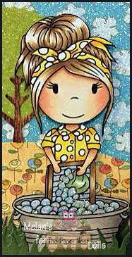 "Fairy Stamp Land: The Paper Nest Dolls ""Happy Birthday"" Blog Hop!"