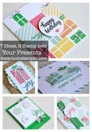 Afbeeldingsresultaat voor your presents stampin up