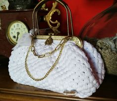 """Princess"" mini bag in total white"