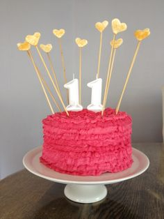 birthday cakes for girls 11th birthday