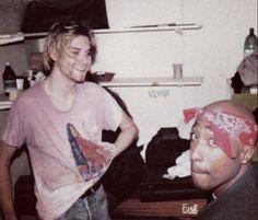 Kurt Cobain and Tupac. Rare