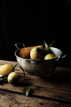 Dark Food Still Life /