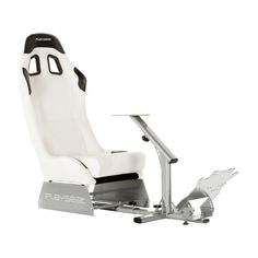 Playseat Evolution Gaming Chair - White with Silver Frame - REM.00006
