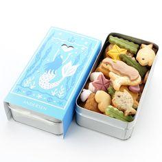 童話クッキー 人魚姫の初恋 | アンデルセンのパン通販サイト/パンの通信販売、ギフトのショッピングはアンデルセンネット