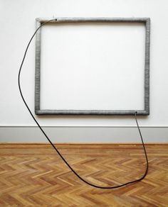 Eva Hesse  American, born Germany, 1936–1970    Hang Up, 1966    Acrylic on cloth over wood; acrylic on cord over steel tube  182.9 x 213.4 x 198.1 cm (72 x 84 x 78 in.)    Through prior gifts of Arthur Keating and Mr. and Mrs. Edward Morris, 1988.130