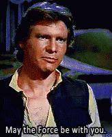 Star Wars Han Solo GIF - StarWars HanSolo TheForce GIFs