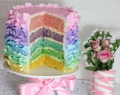 a instructables facebook rainbow pastel ruffle cake bubble and sweet slice with flower.jpg