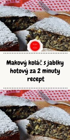 Slovak Recipes, New Recipes, Cake Recipes, Dessert Recipes, Cooking Recipes, Desserts, Good Food, Yummy Food, Tasty