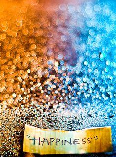 Happiness always sparkles!