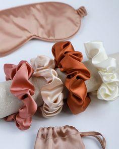 Scrunchies, Craft Fair Ideas To Sell, Christmas Craft Fair, Hair Supplies, Silk Hair, Edwardian Fashion, Fall Trends, Silk Ties, Hair Accessories