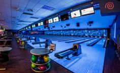 Black light bowling is just one of the many amazingly fun things to do at the Lazer Zone Family Fun Center in Ada. There's also batting cages, an arcade, mini golf and laser tag!