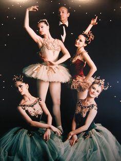 George Balanchine and the original Jewels. 2004 Dom Naschokina Art Gallery