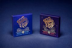Willie's Cacao - Core Single Estate & Flavoured Bars Ranges Redesigned on Packaging of the World - Creative Package Design Gallery