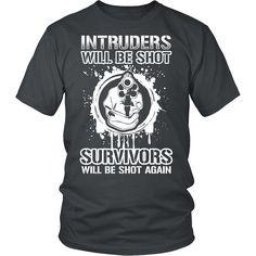 Gun Shirt - No Survivors