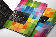 Foliomania // The designer portfolio brochure.