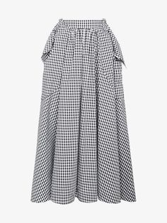 bef242f85 Rejina Pyo, Full Skirts, Gingham, Summer Clothes, Summer Outfits, Midi Skirt