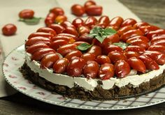 Appetizer Recipes, Appetizers, Cheesecake, Savory Tart, Chutney, Side Dishes, Recipies, Food And Drink, Veggies