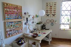 What is it about objects arranged neatly and say, by colour, that's so pleasing to the eye?    studio by whimsiology, (Veronica Fuentes) via Flickr